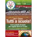 Scuola Tennis, Corsi Gratuiti.