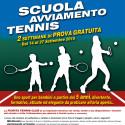 Scuola Tennis, PROVA GRATUITA.
