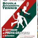 Prova Gratuita tennis per bambini